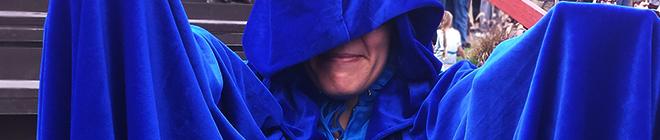 Cloak and Dagger Mel (c) in medias res by Melinda Kucsera