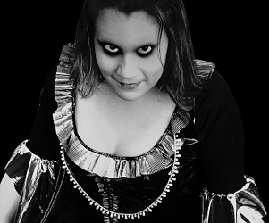 Demonic Mel (c) in medias res by Melinda Kucsera