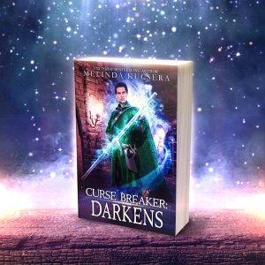 3D book cover of Curse Breaker Darkens