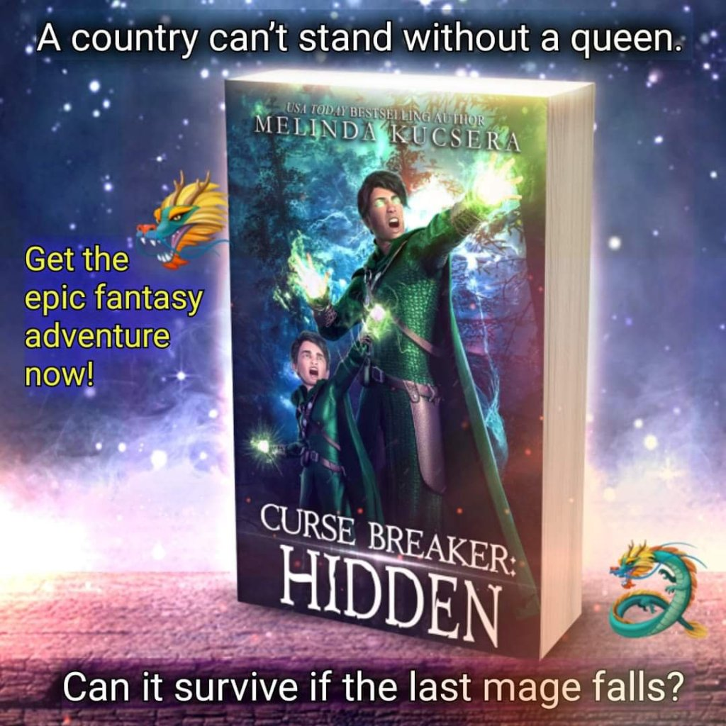 A country can't stand without its queen. Can it survive if its last mage falls?  Get the epic fantasy adventure, Curse Breaker Hidden, now!